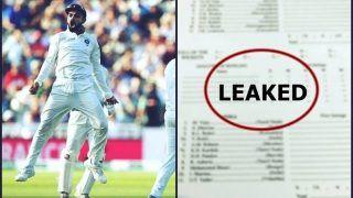 India vs England 2018, 2nd Test Squads Announced?Leaked -- Shikhar Dhawan, KL Rahul Both in Virat Kohli-Led Team India and Joe Root's England Will Play Chris Woakes
