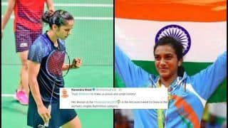 Asian Games 2018 in Jakarta and Palembang Day 9: PV Sindhu, Saina Nehwal Script History in Women's Badminton, PM Narendra Modi, Twitter Congratulates Indian Shuttlers