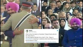 Imran Khan Becomes Prime Minister of Pakistan: Navjot Singh Sidhu TROLLED For Attending Oath Taking Ceremony
