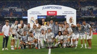 Real Madrid Beat AC Milan 3-1 to Lift Santiago Bernabeu Trophy -- Watch Highlights