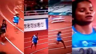 Asian Games 2018 in Jakarta And Palembang Day 10: Dutee Chand Comes First in 200 m Semi-Finals , Makes it to Finals After Hima Das Gets Disqualified For False Start -- WATCH