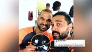 India vs England 3rd Test Nottingham: Shikhar Dhawan, Murali Vijay Get Trolled For Having Beer in Indian Jersey After Virat Kohli-Led Team India Beat Hosts by 203 Runs at Trent Bridge