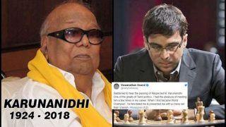 DMK Chief Kalainger Karunanidhi Passes Away: Chess Grandmaster Viswanathan Anand Shares an Anecdote That Highlights The Big Heart Leader Had