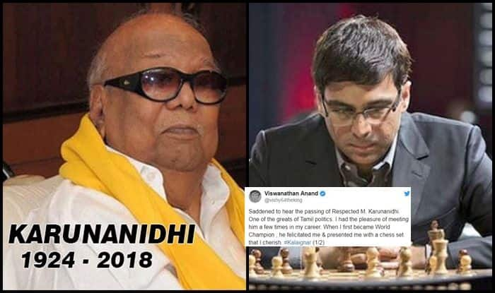 Vishwanathan Anand reminisces memories of Kalaignar!