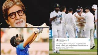 India vs England 2nd Test Day 3 Lord's: Actor Amitabh Bachchan, Rohit Sharma Ask Fans to Support Virat Kohli-Led Team India on Twitter