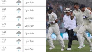 India vs England 2nd Test Day 4 Lord's: Weather Forecast Shows Possibility of Rain, Virat Kohli-Led Team India Would Love it