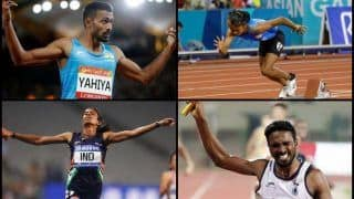 Asian Games 2018 in Jakarta And Palembang Day 10: Indian Mixed 4 x 400 Metres Relay Team Comprising of Hima Das, Anas Yahiya And Co Wins Silver, Extends Medal Tally to 49