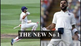 India vs England 1st Test Edgbaston: Virat Kohli Pips Steve Smith to Become New No 1 Batsman in ICC Test Rankings, Full List Available