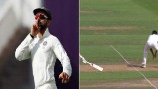 India vs England 1st Test Edgbaston: Virat Kohli's Off-Balanced Throw Gets Joe Root Runout -- WATCH