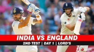India vs England, 2nd Test, Day 1 Highlights: Incessant Rain Washes Off Opening Day's Play at Lord's