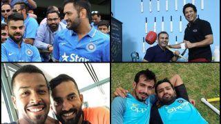 Happy Friendship Day 2018: MS Dhoni-Virat Kohli, Dinesh Karthik-Hardik Pandya to Sachin Tendulkar-Virender Sehwag, Yuzvendra Chahal-Rohit Sharma, Times Cricketers Gave us Goals -- PICS