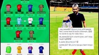EPL 2018-19: Rohit Sharma Reveals His Fantasy Premier League Squad, Gets Trolled Brutally For 'Bad' Picks