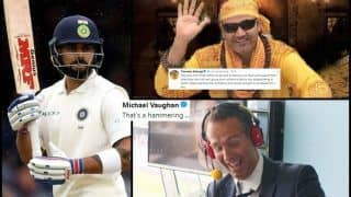 India vs England 2nd Test Day 4 Lord's: Michael Vaughan, Stuart Broad to Ian Botham, Virender Sehwag, How Fraternity Reacted on Twitter to Virat Kohli-Led Side's Loss