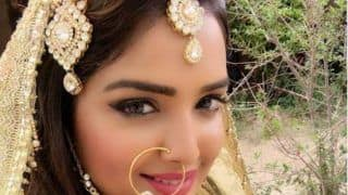 Bhojpuri Bombshell Amrapali Dubey Looks Mesmerisingly Hot in This Picture From The Sets of Sher Singh- View Picture