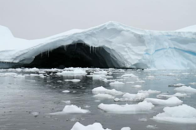 Warm Caves beneath Antarctica Glaciers Show Evidence of Life, May be Hospitable