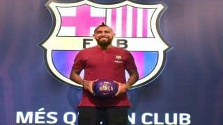 Chilean Midfielder Arturo Vidal Signs For FC Barcelona For 30 Million Euros