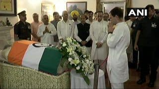 कांग्रेस अध्यक्ष राहुल गांधी ने  पूर्व प्रधानमंत्री अटल बिहारी वाजपेयी को दी श्रद्धांजलि
