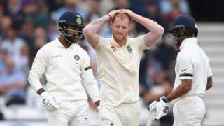 India vs England 2018, 3rd Test Nottingham: Comeback Man Ben Stokes Shows Great Sportsmanship After Colliding With Shikhar Dhawan at Trent Bridge | Watch