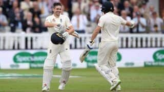 India vs England 2018, 2nd Test: Chris Woakes Unbeaten Hundred, Jonny Bairstow's 93 Put Hosts in Command Against Virat Kohli's Men on Day 3