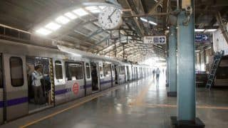 Delhi Metro Violet Line Services Between Nehru Place And Badarpur Delayed