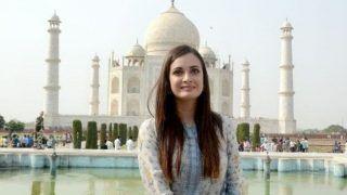Dia Mirza Visits Taj Mahal in Agra, Lauds Taj Declaration to Beat Plastic Pollution