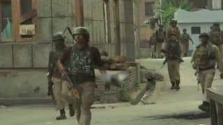 Jammu And Kashmir: Encounter Breaks Out Between Terrorists, Security Forces in Batamaloo, Internet Services Suspended