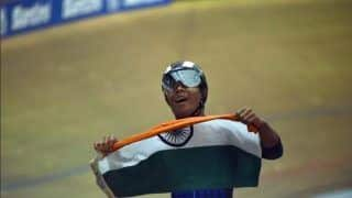India's 17-Year-Old Esow Alben Wins Silver at World's Junior Track Cycling Championship