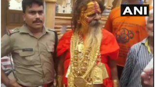 20 किलो सोना पहने 'गोल्डन बाबा' पहुंचे हरिद्वार, 200 किलोमीटर की 25वीं कांवड़ यात्रा करेंगे पूरी