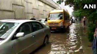 Gurugram Rain: Heavy Shower Wreaks Havoc, Waterlogged Roads And Traffic Snarls Paralyse Normal Life
