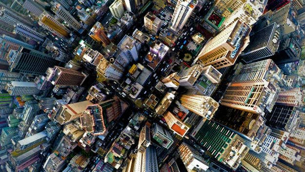 These 14 Aerial Photos Of Cities Around The World Will Blow Your