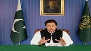 पाकिस्तान के प्रधानमंत्री इमरान खान ने संयुक्त राष्ट्र महासचिव के सामने उठाया कश्मीर का मुद्दा