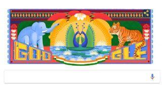 72 Independence Day Celebration: गूगल ने स्वतंत्रता दिवस पर बनाया शानदार डूडल