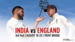 India vs England 2018, 3rd Test Day 2, Live Streaming: When and Where to Watch IND vs ENG Third Test Coverage Online on Sony Network at 3.30 PM