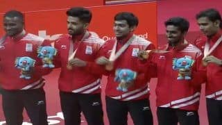 Asian Games 2018: Men's Team Stuns Japan, Assures India of Historic Table Tennis Medal