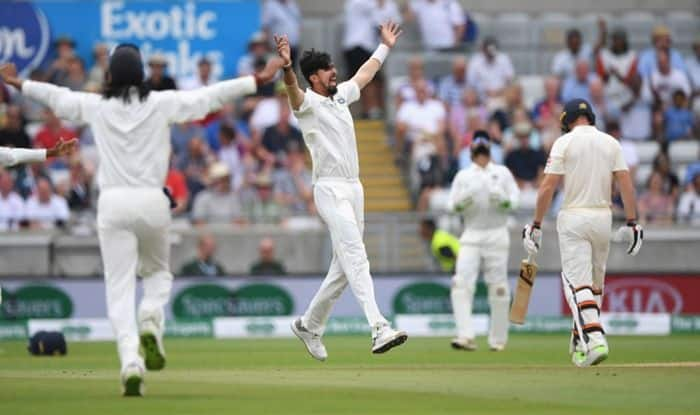 Kohli scores his first Test century in England