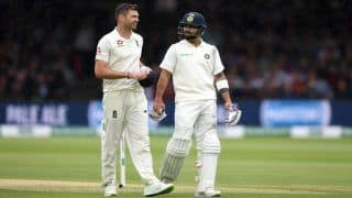 India vs England 2018: India Captain Virat Kohli Loses Top Spot in ICC Test Rankings to Out-of-Action Steve Smith, Pacer James Anderson Breaks 38-Year Old Record