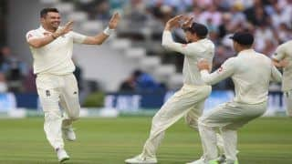 India vs England 2018, 2nd Test, Day 2 Highlights: James Anderson Picks Up Fifer to Bowl India Out For 107 at Lord's