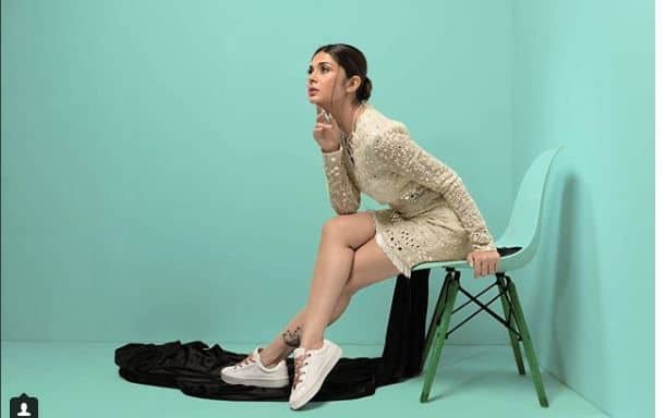 Image result for Jennifer Winget Looks Stunning as She Strikes a Pose For Her Latest Photoshoot; Check Picture Updated: September 6, 2018 11:29 AM IST By Taru BhatiaEmailFollow