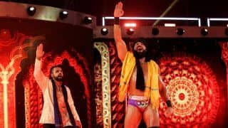 Indian Origin WWE Wrestler Jinder Mahal Defeats Braun Strowman--WATCH