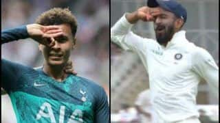 India vs England 3rd Test Day 4 Trent Bridge: After Emulating Cristiano Ronaldo's Trademark Celebration, KL Rahul Tries The Dele Alli Challenge After Taking Joe Root's Catch -- WATCH