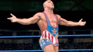 WWE Hall of Famer Kurt Angle Confirms Retirement on RAW, Set For Final Match in Wrestlemania 35