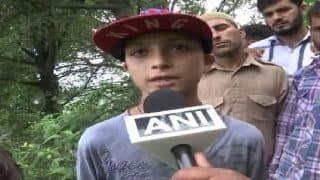 J-K: I Want to be an Officer Like dad, Take Revenge For His Death, Says Son of Martyred Police Personnel