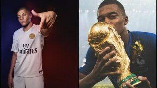 World Cup Winning Teen Sensation Kylian Mbappe Returns to Paris Saint-Germain Training