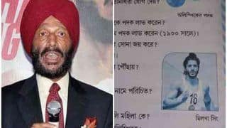 एथलीट मिल्खा सिंह को नहीं पहचानती बंगाल सरकार, टेक्स्ट बुक में लगाई फरहान अख्तर की तस्वीर