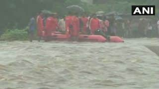 Gujarat: 12 Rescued by NDRF Team From Middle of Godhra River; Monsoon Condition Likely to Prevail in The Region