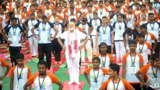 International Yoga Day 2017 celebration in India: Heartwarming photos of PM Narendra Modi performing yoga in Lucknow