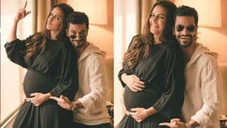 Angad Bedi Finally Announces Neha Dhupia's Pregnancy on Twitter; See Photos