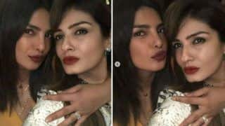 Priyanka Chopra Snapped Flashing an Engagement Ring From Nick Jonas at Manish Malhotra's Party- View Picture