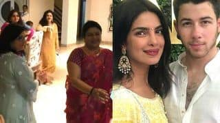 Priyanka Chopra -  Nick Jonas' Engagement Inside Video: Mommies Denise Jonas And Madhu Chopra Dance Like Pros
