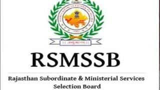 Rajasthan Staff Selection Board Postpones Date of Agricultural Supervisor Direct Recruitment Exam 2018 Due to 'Unavoidable Circumstances'
